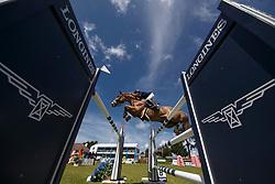 Daigneux-Lange Fabienne, BEL, Venue D Fees Des Hazalles<br /> Grand Prix Longines - Ville de La Baule<br /> Longines Jumping International de La Baule 2017<br /> © Hippo Foto - Dirk Caremans<br /> Daigneux-Lange Fabienne, BEL, Venue D Fees Des Hazalles