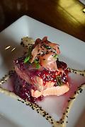 Cranberry Salmon, Bayview Restaurant, Sitka, Alaska