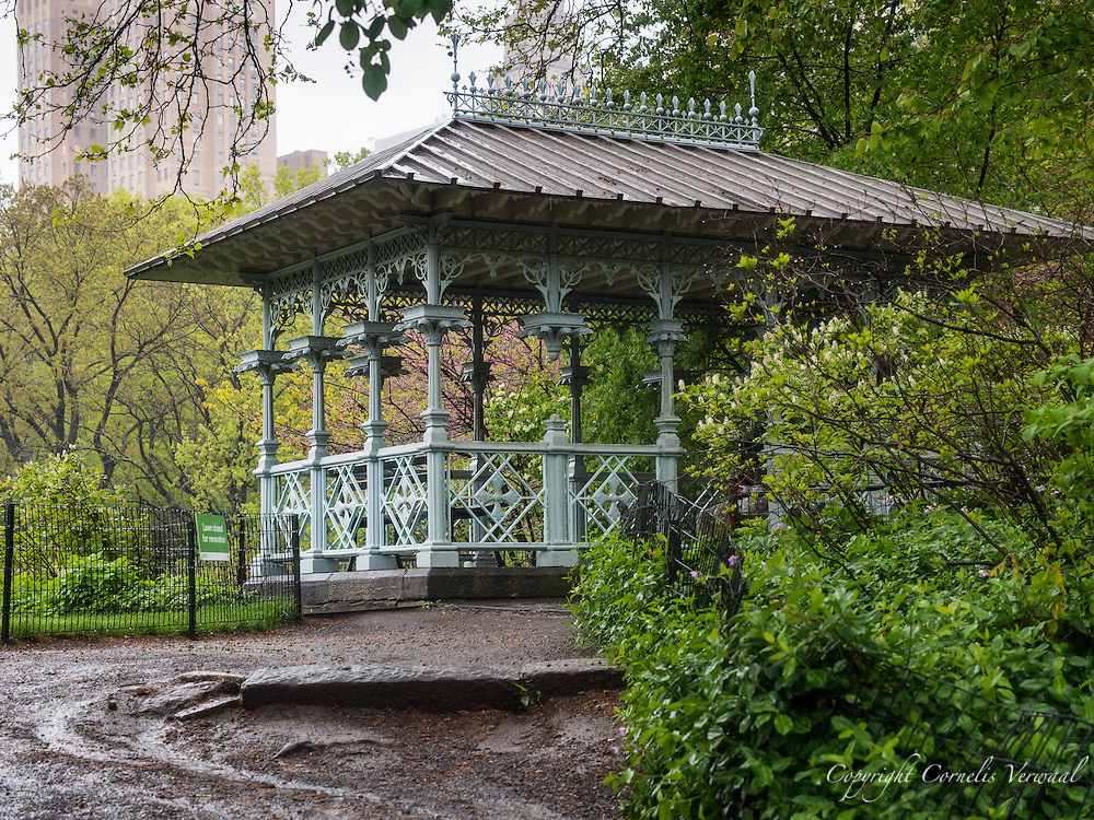The Ladies Pavilion at The Hernshead in Central Park.