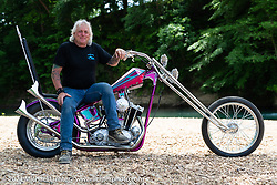 BCMoto invited builder Jack Deagazio with his custom Sportster at the Tennessee Motorcycles and Music Revival at Loretta Lynn's Ranch. Hurricane Mills, TN, USA. Saturday, May 22, 2021. Photography ©2021 Michael Lichter.
