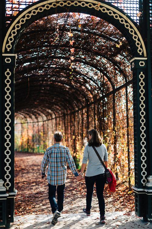 The Privy Garden of Schloss Schonbrunn, Vienna, Austria