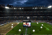 XXX during the celebration of the victory of the Real Madrid Champions League at Santiago Bernabeu in Madrid. May 29. 2016. (ALTERPHOTOS/Borja B.Hojas)