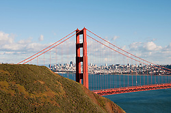 Marin Headlands; sightseeing; Golden Gate Bridge, San Francisco, California, USA.  Photo copyright Lee Foster.  Photo # california108841