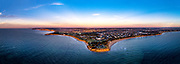 Torquay from the air on Sunrise<br /> Birds Eye View