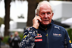 Dr Helmut Marko (AUT) Red Bull Motorsport Consultant.<br /> 28.10.2016. Formula 1 World Championship, Rd 19, Mexican Grand Prix, Mexico City, Mexico, Practice Day.<br /> Copyright: Batchelor / XPB Images / action press