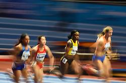 March 2, 2018 - Birmingham, England, United Kingdom - Elaine Thompson ofJamaica at 60 meter semi final at World indoor Athletics Championship 2018, Birmingham, England on March 2, 2018. (Credit Image: © Ulrik Pedersen/NurPhoto via ZUMA Press)
