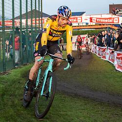 2019-12-27 Cycling: dvv verzekeringen trofee: Loenhout: Wout van Aert on his way to a fifth place