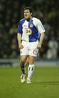 Photo: Aidan Ellis.<br /> Blackburn Rovers v Bayer Leverkusen. UEFA Cup, 2nd Leg. 22/02/2007.<br /> Rovers David Dunn