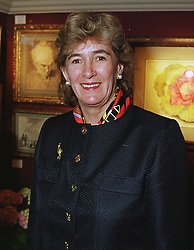 MRS MINNIE CHURCHILL former wife of Winston Churchill, at an antiques fair in London on 9th June 1999.MSY 28 WO
