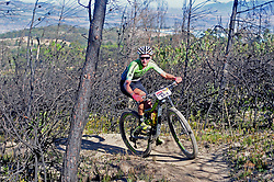WELLINGTON SOUTH AFRICA - MARCH 23: Carmen Buchacher during stage five's 39km time trial on March 23, 2018 in Wellington, South Africa. Mountain bikers gather from around the world to compete in the 2018 ABSA Cape Epic, racing 8 days and 658km across the Western Cape with an accumulated 13 530m of climbing ascent, often referred to as the 'untamed race' the Cape Epic is said to be the toughest mountain bike event in the world. (Photo by Dino Lloyd)