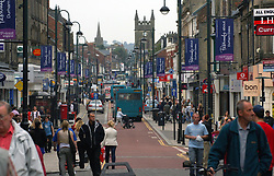 Shopping; Bishop Auckland; County Durham; UK