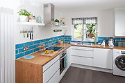 modern clean fresh kitchen interior design
