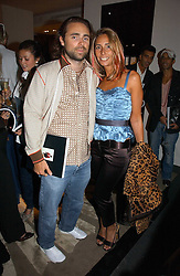 JAMES and TARA ARCHER at a book signing by footballer Andriy Shevchenko of his book Sheva held at Armani Casa, Bond Street, London on 20th September 2006.<br /><br />NON EXCLUSIVE - WORLD RIGHTS