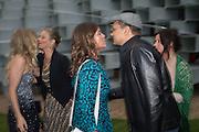 KATE MOSS; JADE JAGGER, 2016 SERPENTINE SUMMER FUNDRAISER PARTY CO-HOSTED BY TOMMY HILFIGER. Serpentine Pavilion, Designed by Bjarke Ingels (BIG), Kensington Gardens. London. 6 July 2016