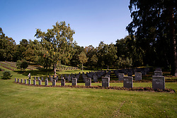 The graves of German Soldiers in the German Military Cemetery at Cannock Chase in Staffordshire which contains almost 5000 burials from both the first and second world wars of German and Austrian nationals and a small number of Ukrainians<br /> <br /> 17 September 2020<br /> <br /> www.pauldaviddrabble.co.uk<br /> All Images Copyright Paul David Drabble - <br /> All rights Reserved - <br /> Moral Rights Asserted -