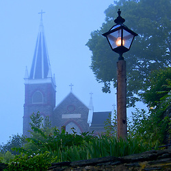 Foggy June Morning in Harpers Ferry