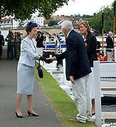 Henley. UNITED KINGDOM. Princess Royal, Princess Anne visit to 2010 Henley Royal Regatta,  Stewards Enclosure, accompanied Regatta Chairman Mike SWEENEY.  Friday 02/07/2010.[Mandatory Credit: Patrick White/Intersport Images] . HRR.