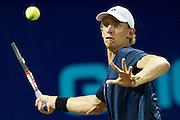 IRVING, TX - JULY 10:  Kevin Anderson of the Washington Kastles returns the ball during a singles match against Alex Bogomolov Jr. of the Texas Wild on July 10, 2013 at the Four Seasons Resort and Club in Irving, Texas.  (Photo by Cooper Neill/Getty Images) *** Local Caption *** Kevin Anderson