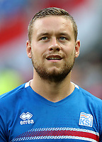 Uefa - World Cup Fifa Russia 2018 Qualifier / <br /> Iceland National Team - Preview Set - <br /> Sverrir Ingi Ingason
