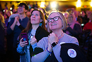 The Tony Evers Election Night watch party at the Orpheum Theater in Madison, Wisconsin, Tuesday, Nov. 6, 2018.