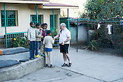 22/11/2015  repro fee. A group of  irish people travelled with Gorta-Self Help Africa travelled to the capital of Ethiopia Addis Ababa and visited  a local Orphanage   .  Photo:Andrew Downes.