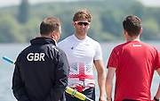 Caversham, Nr Reading, Berkshire.<br /> <br /> Jonny WALTON. Olympic Rowing Team Announcement morning training before the Press conference at the RRM. Henley.<br /> <br /> Thursday  DATE}<br /> <br /> [Mandatory Credit: Peter SPURRIER/Intersport Images] 09.06.2016,