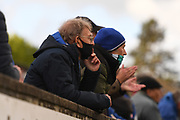 Normality rose as fans are glued and claps as watching local team during the Northern Premier League match between Matlock FC and Ashton United at the Proctor Cars Stadium on October 10th, 2020 in Matlock, Derbyshire.  Local fans welcomed to watch the match maintaining Government's Covid-19 guidelines. (VXP Photo/ Shaun Hardwick)
