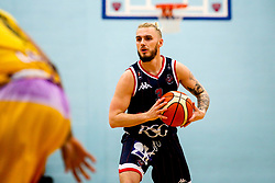 Jordan Nicholls of Bristol Flyers - Photo mandatory by-line: Robbie Stephenson/JMP - 10/04/2019 - BASKETBALL - UEL Sports Dock - London, England - London Lions v Bristol Flyers - British Basketball League Championship