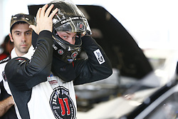 November 16, 2018 - Homestead, Florida, U.S. - Kevin Harvick (4) hangs out in the garage prior to practice for the Ford 400 at Homestead-Miami Speedway in Homestead, Florida. (Credit Image: © Justin R. Noe Asp Inc/ASP)