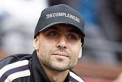 April 6, 2018 - Valencia, Valencia, Spain - Simone Zaza football player of Valencia CF attends the match between Rafael Nadal of Spain and Philipp Kohlschreiber of Germany during day one of the Davis Cup World Group Quarter Finals match between Spain and Germany at Plaza de Toros de Valencia on April 6, 2018 in Valencia, Spain  (Credit Image: © David Aliaga/NurPhoto via ZUMA Press)