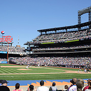 A panoramic view of Citi Field during the New York Mets V Pittsburgh Pirates Baseball game at Citi Field, Queens, New York. USA. 12th May 2013. Photo Tim Clayton