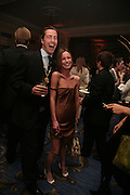 Jamie Lauder, Zoe Russell, The Essential Party Guide Evening of Golden Glamour. The Ballroom, Mandarin oriental, Hyde Park. 27 March 2007. -DO NOT ARCHIVE-© Copyright Photograph by Dafydd Jones. 248 Clapham Rd. London SW9 0PZ. Tel 0207 820 0771. www.dafjones.com.