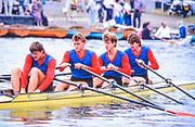 Henley. England, 1989 Henley Royal Regatta, River Thames, Henley Reach,  [© Peter Spurrier/Intersport Images], CCCP M5X, USSR M4X