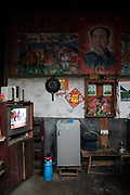 Electricity appliances in a home in the village of Duntang, in Daoxian County, Hunan Province, China, on 03 June, 2010. Duntang was connected to the main electricity grid and began to receive regular supply of electricity only since the beginning of 2009.
