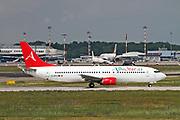 EC-MFS Alba Star Boeing 737-4Y0 Photographed at Malpensa airport, Milan, Italy