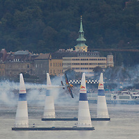 0608204976 Red Bull Air Race international air show on the national holiday over the river Danube accompanying the anniversary of Hungarian state foundation. Budapest, Hungary. Sunday, 20. August 2006. ATTILA VOLGYI