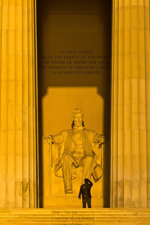 The Lincoln Memorial, Washington D.C., U.S.A.