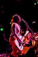 San Antonio's Girl in a Coma played The New Parish in Oakland, California on Monday June 10, 2013. Jenn Alva (bass), Phanie Diaz (drummer), and Nina Diaz (lead vocalist and guitarist) are signed to Joan Jett's Blackheart Records.