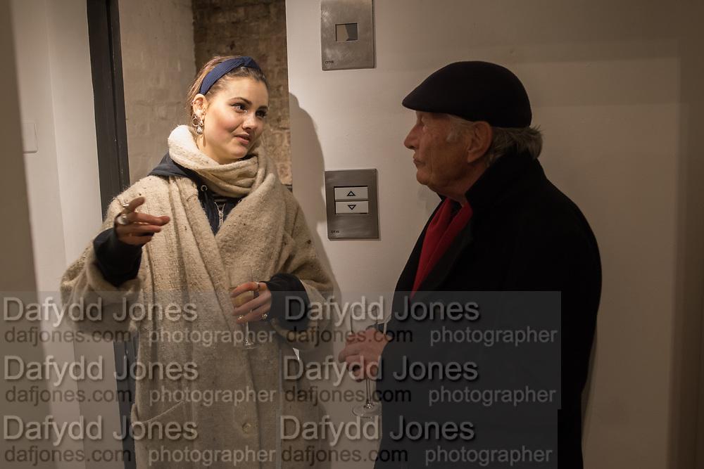 STUART BARCLAY, FLORA PHILLIPS, Nicole Farhi at Beaux Arts London - 30 January.  2019
