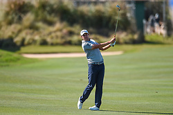 March 21, 2018 - Austin, TX, U.S. - AUSTIN, TX - MARCH 21: Peter Uihlein watches his approach shot during the First Round of the WGC-Dell Technologies Match Play on March 21, 2018 at Austin Country Club in Austin, TX. (Photo by Daniel Dunn/Icon Sportswire) (Credit Image: © Daniel Dunn/Icon SMI via ZUMA Press)