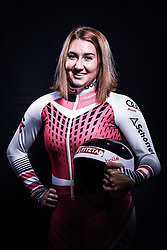12.10.2019, Olympiahalle, Innsbruck, AUT, FIS Weltcup Ski Alpin, im Bild Bernadette Lorenz // during Outfitting of the Ski Austria Winter Collection and the official Austrian Ski Federation 2019/ 2020 Portrait Session at the Olympiahalle in Innsbruck, Austria on 2019/10/12. EXPA Pictures © 2020, PhotoCredit: EXPA/ JFK