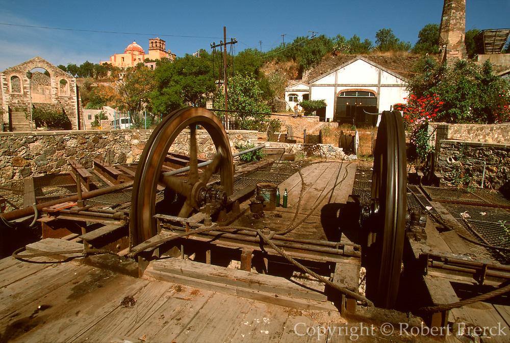 MEXICO, COLONIAL CITIES Guanajuato, Rayas silver mine