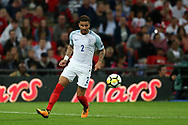 Kyle Walker of England in action. FIFA World cup qualifying match, European group F, England v Slovakia at Wembley Stadium in London on Monday 4th September 2017.<br /> pic by Andrew Orchard, Andrew Orchard sports photography.