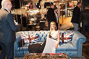 ANTONIO BERNASCONI; ANGELA FARINA, Timothy Oulton Flagship Gallery Grand Opening, Timothy Oulton Bluebird, 350 King's Rd. Chelsea, London.  19 September 2018