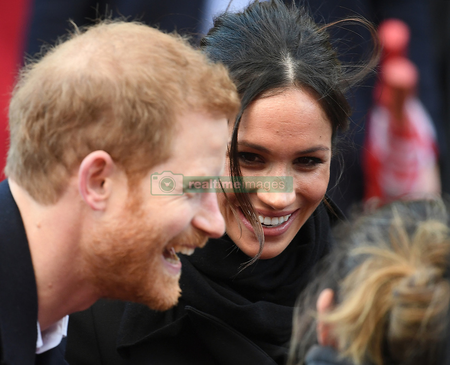 Prince Harry and Meghan Markle visit Cardiff Castle on a day showcasing the culture and heritage of Wales in Cardiff, Wales, UK, on the 18th January 2018. 18 Jan 2018 Pictured: Prince Harry, Meghan Markle. Photo credit: James Whatling / MEGA TheMegaAgency.com +1 888 505 6342