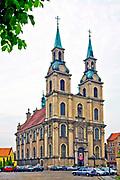 Kościół pw. Podwyższenia Krzyża Świętego, Brzeg, Polska<br /> Church Elevation of the Holy Cross, Brzeg, Poland
