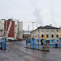 Industriområdet til Glencore Nikkelverk i Kristiansand.