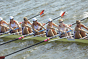Poznan, POLAND,  USA W8+, Bow, Erin CAFARO, Mara ALLEN, Laura LARSEN-STRECKER, Zsuzsanna FRANCIA, Anna GOODALE, Lindsey SHOOP, Caroline LIND, Katherine GLESSNER and cox Katlin SNYDER. competing in a heat  of the women's eights, on the Second day of the, 2009 FISA World Rowing Championships. held on the Malta Rowing lake, Monday  24/08/2009 [Mandatory Credit. Peter Spurrier/Intersport Images]