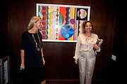 IWONA BLAZWICK; BEATRIZ MILHAZES,, Galen and Hilary Weston host the opening of Beatriz Milhazes Screenprints. Curated by Iwona Blazwick. The Gallery, Windsor, Vero Beach, Florida. Miami Art Basel 2011