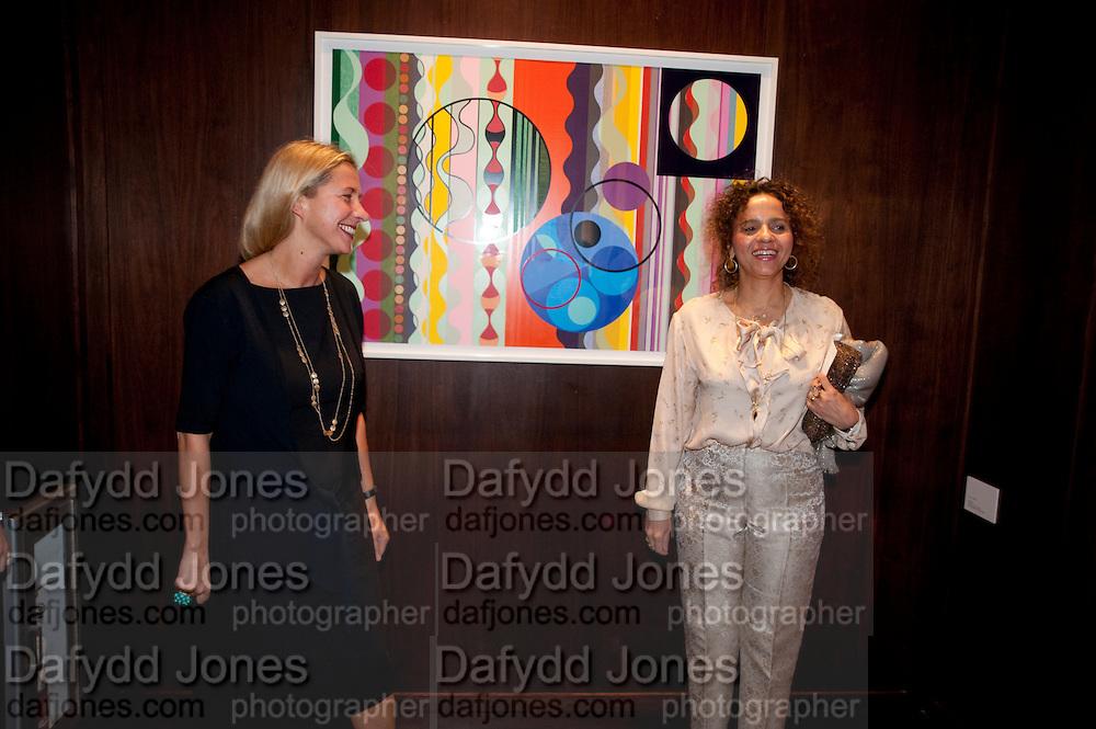 IWONA BLAZWICK; BEATRIZ MILHAZES,, Galen and Hilary Weston host the opening of Beatriz Milhazes Screenprints. Curated by Iwona Blazwick. The Gallery, Windsor, Vero Beach, Florida. Miami Art Basel 2011
